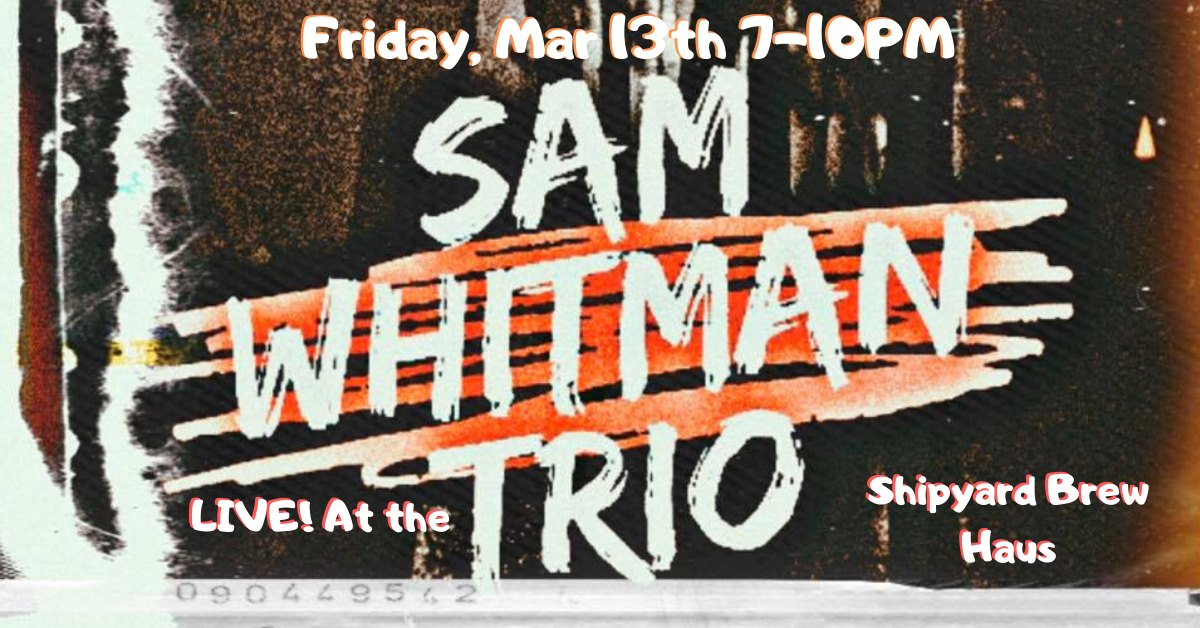 SAM WHITMAN TRIO